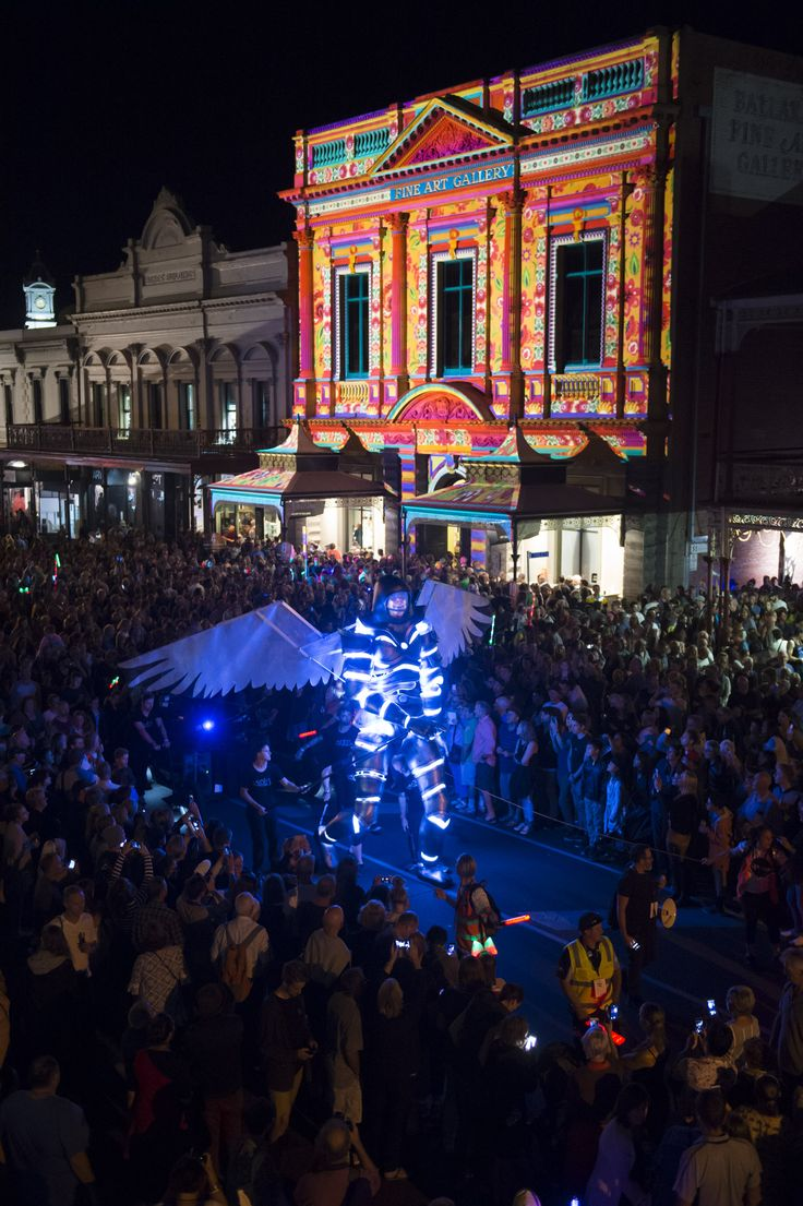 White Night Ballarat 'Nights of Gold shall we dance' credit - SDP Media