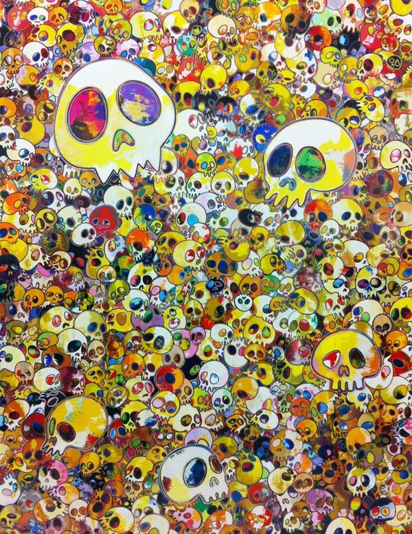 Painting by Takashi Murakami.
