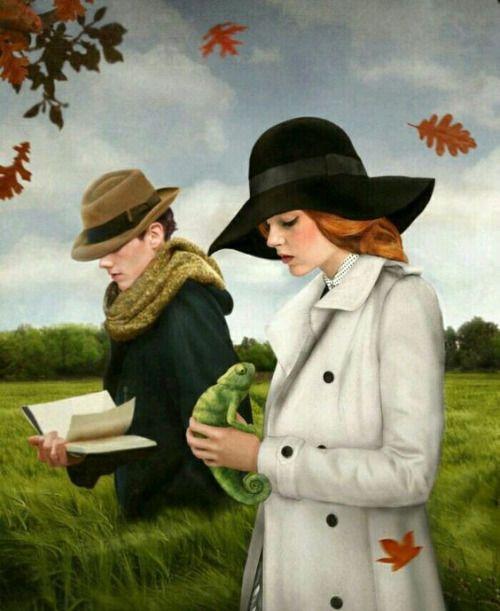 Naturaleza, un paseo con buena compañía y libros: otoño literario (ilustración de Marta Bielsa)
