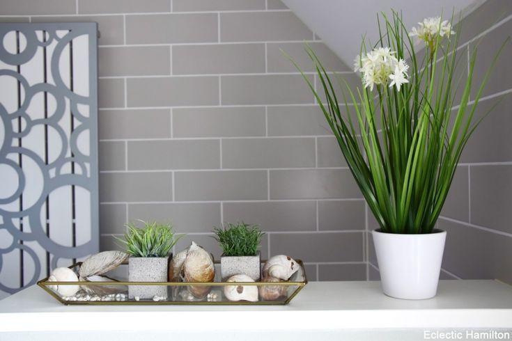 Badezimmerdekoration Gra 1 4 N Design Mit Grau Und Schonem Grun