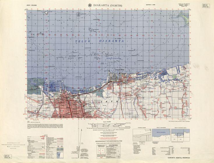 Best Batavia Map Images On Pinterest Jakarta Antique Maps - Us army travel map