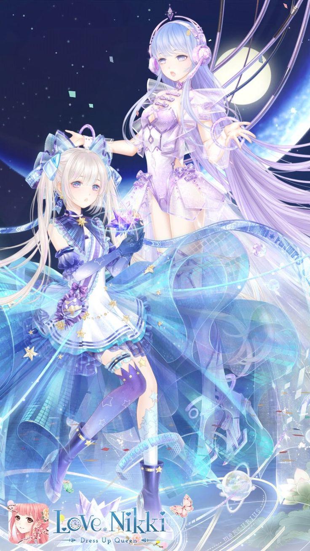 Love Nikki dress up queen Anime, Đang yêu, Dễ thương