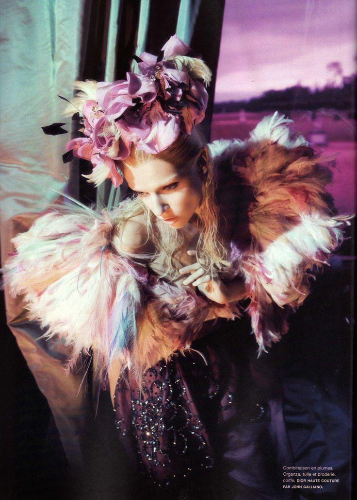 Christian Dior Fall 2007 Haute Couture  L'odalisqueMagazine; Numéro #88 November 2007Photographer: Camilla ÅkransModel:Masha Novoselova
