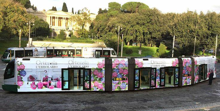 pubblicità erbolario tram