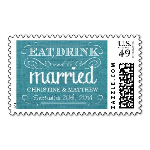 Best Rustic Wedding Postage Stamps Images On