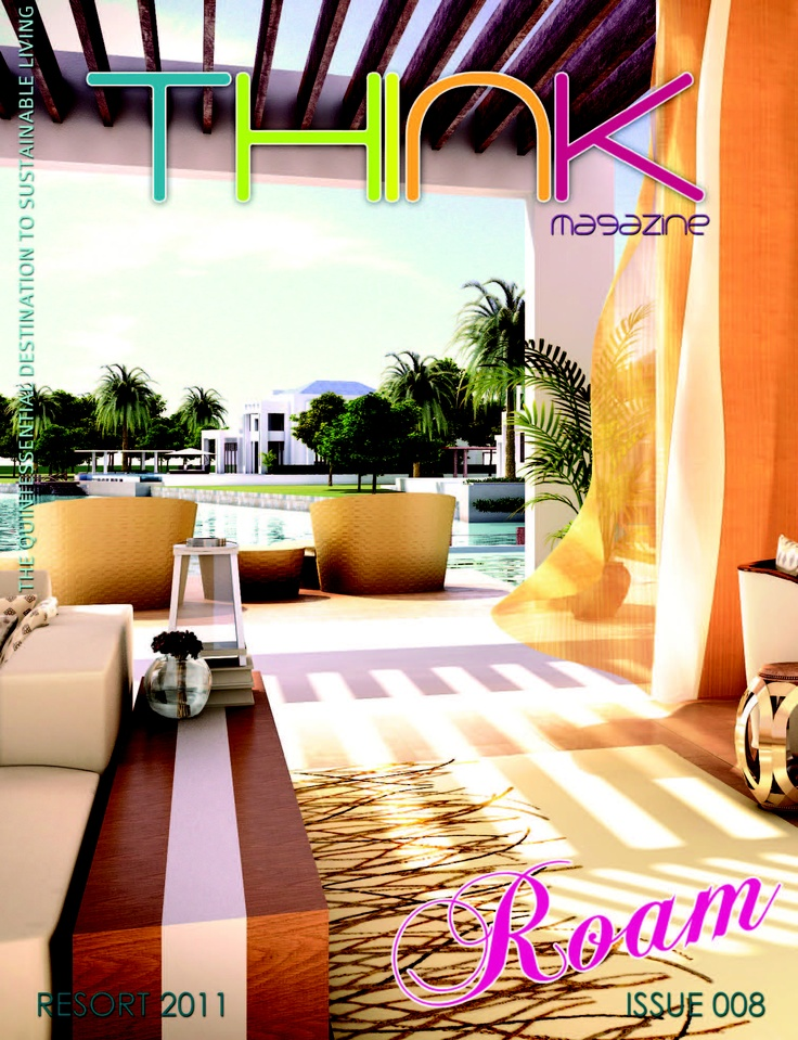 Think magazine 008. The resort issue chocked full of eco luxurious reco's