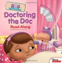 Doc McStuffins - Doctoring the Doc, Read-Along Storybook and CD - Pre-K Complete Preschool Curriculum incorporates daily play at the Reading and Listening Center. Pinned by Pre-K Complete - follow us on our blog, FB, Twitter, & Google Plus!