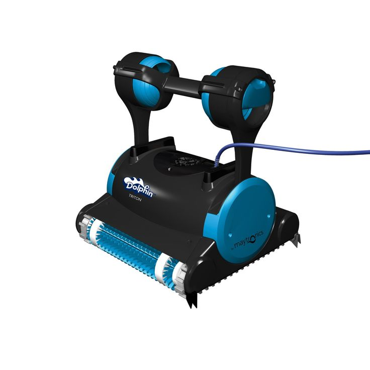 Dolphin Triton Robotic Pool Cleaner with Caddy and Swivel Cable - 99996356