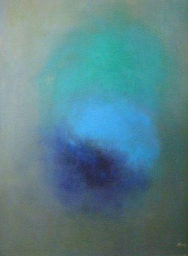 """artoffer – Art of Roswitha Klotz   """"Velvetly blue"""" (35) / 1997"""