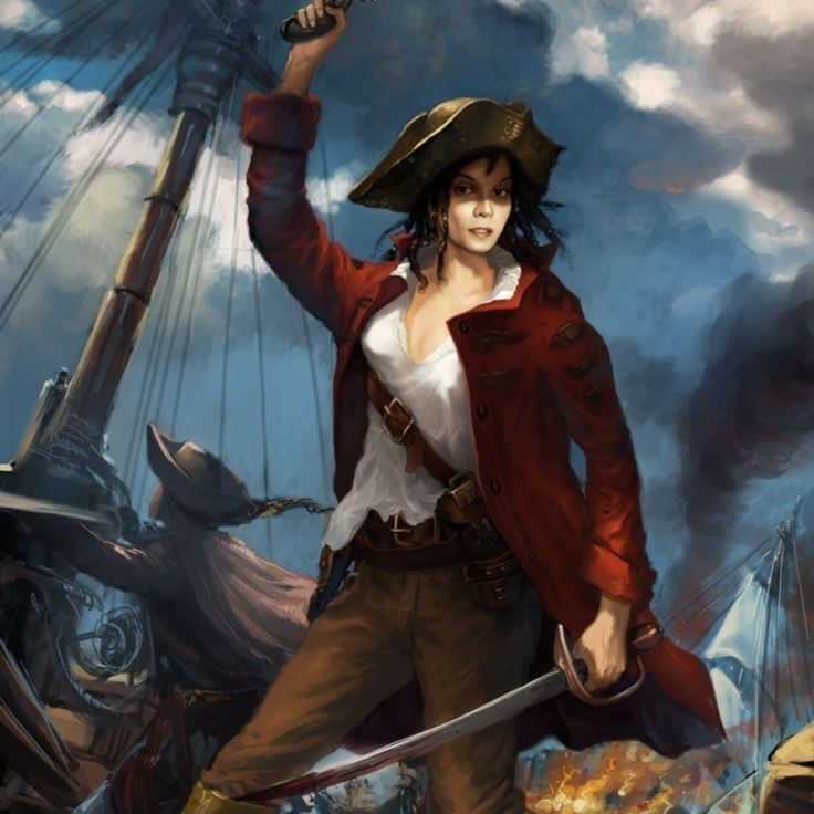 Female pirate porn