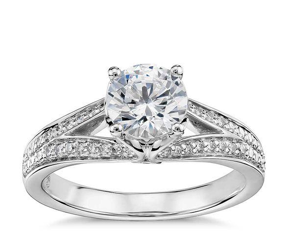 02 17 rustic ideas plum pretty sugar pave engagement ringssplit - Wedding Diamond Rings