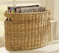 Baskets, Decorative Storage Baskets, Woven Trays | Pottery Barn