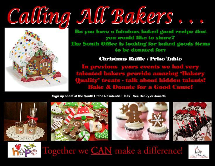 Royal LePage Triland Realty Bake Sale Raffle Item