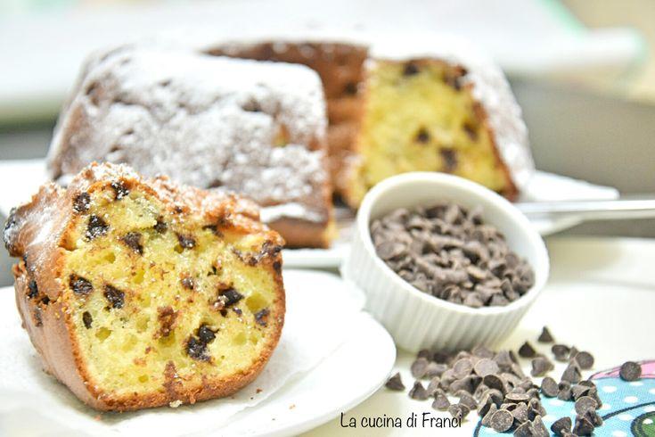 Ciambellone mascarpone e cioccolato senza glutine