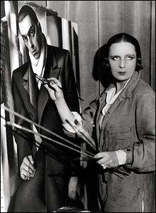 Tamara de Lempicka (1898-1980), born in Warsaw, Poland, was a Polish Art Deco painter.