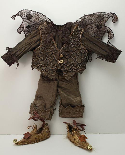 Delightful Acorn Tweed Fairy Outfit