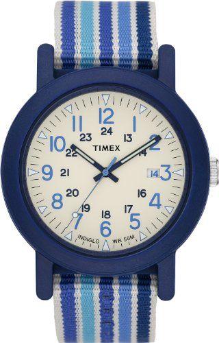 Timex Damen-Armbanduhr Analog Textil T2N492AU - http://uhr.haus/timex/timex-damen-armbanduhr-analog-textil-t2n492au