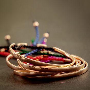 """""""La vie"""" bracelets... Www.most-chic.com"""