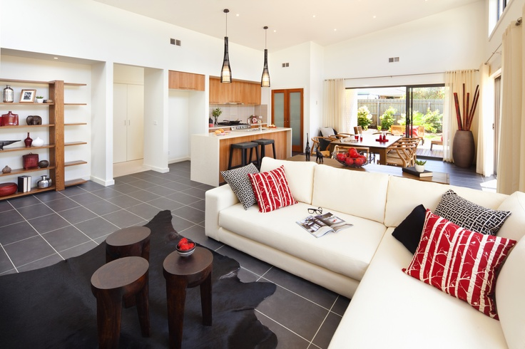 Open space living at its best.