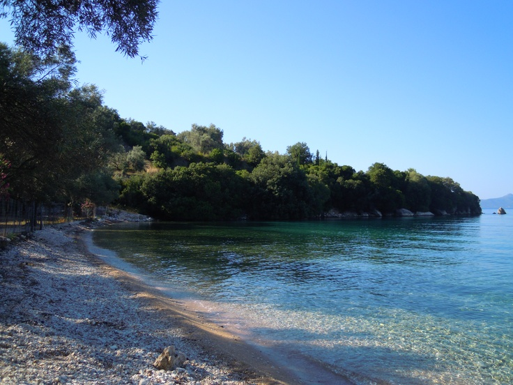 Cherniades beach, Meganisi, Greece