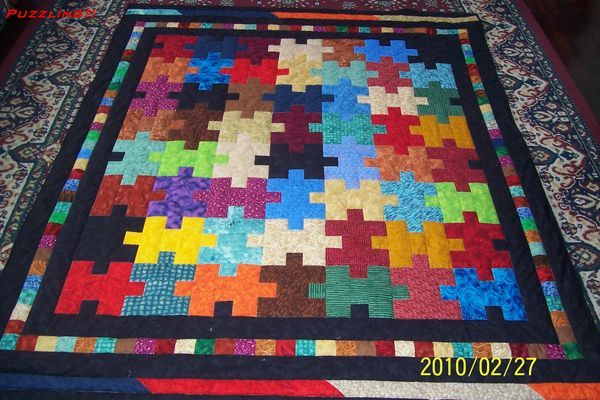 LOVE this one. . . autism quilt!