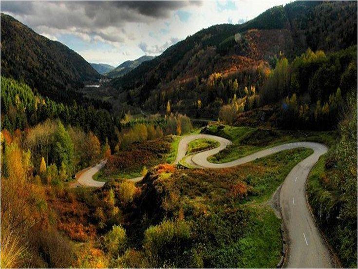 Winding roads:
