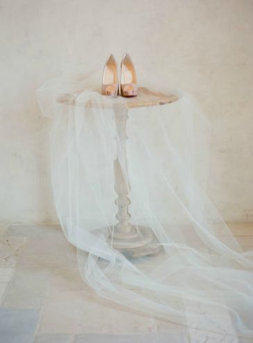Veil & Shoes — Santa Barbara & Destination Wedding…
