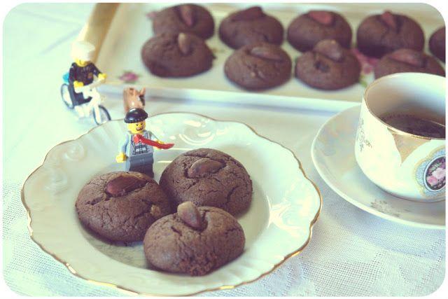 Hoje para jantar ...: Biscoitos de Alfarroba