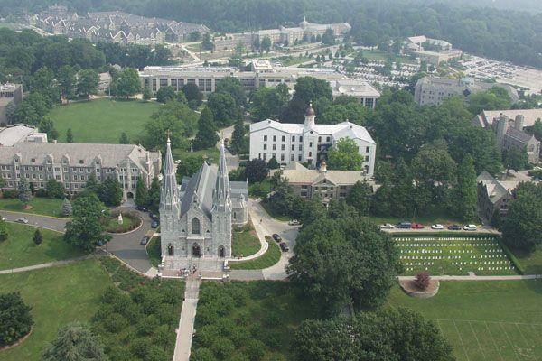 Villanova University!  I still can't believe I work here!!