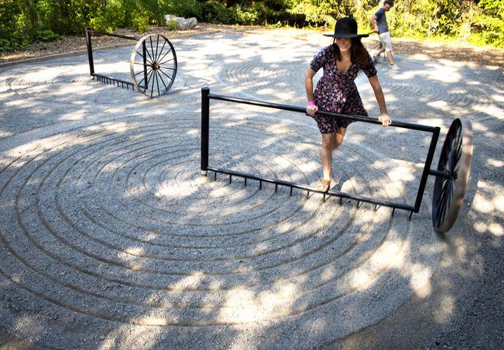 around about talmon biran architecture zen garden