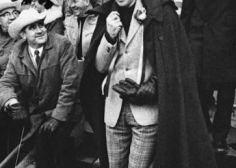 Pierre Trudeau, Prime Minister, Wore An Awesome Cape During 1970 Grey Cup Game