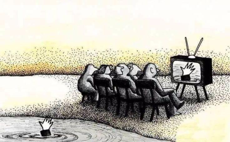Degradación social #Viñeta #Humor