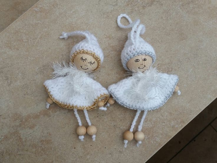 gehäkelte Engel, crochet Angel