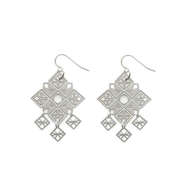 POLLI / Stainless Steel Bodhi Deluxe Earrings