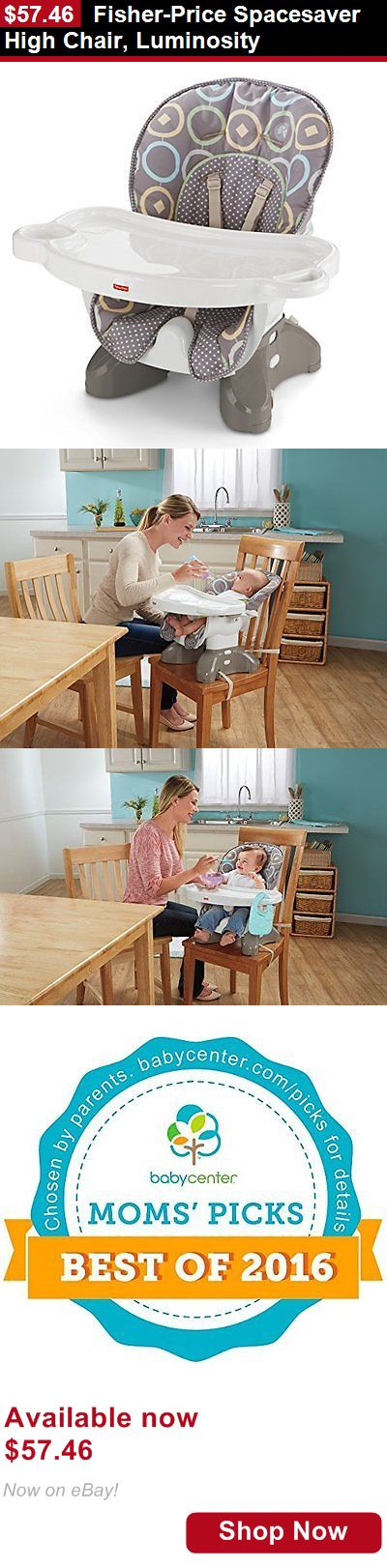 Baby High Chairs: Fisher-Price Spacesaver High Chair, Luminosity BUY IT NOW ONLY: $57.46