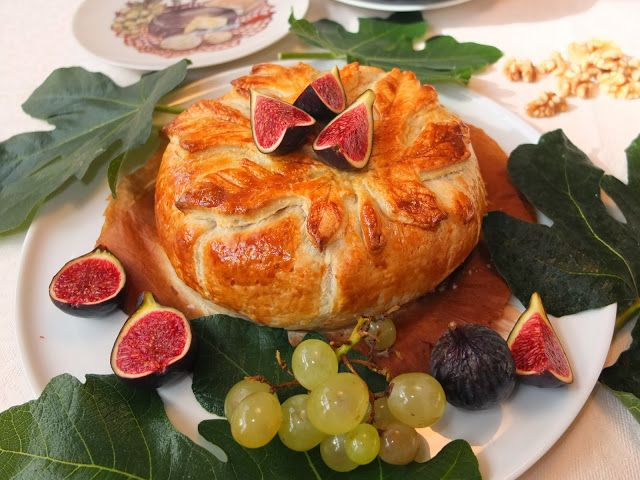 Para los amantes del queso: pastel de hojaldre con queso brie, membrillo y nueces ¡una tentación irresistible!