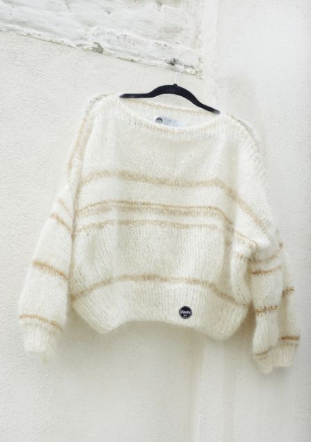 Josy Pullover - Big knits from the handmade knitwear label Maurice. #knitted…