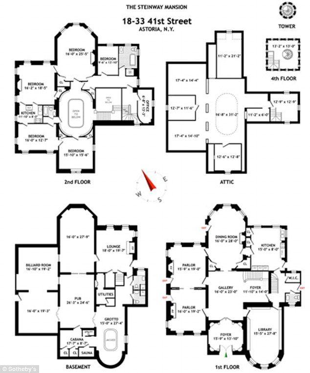 Fantastic 17 Best Ideas About Mansion Floor Plans On Pinterest Victorian Largest Home Design Picture Inspirations Pitcheantrous