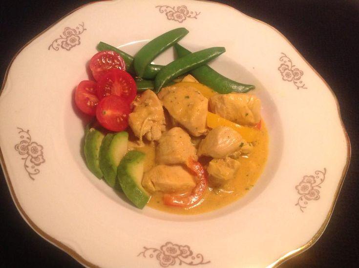 Kyckling med curry