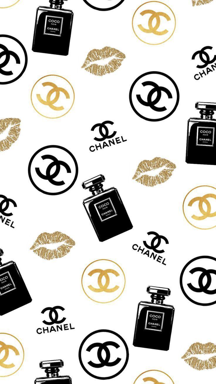 Chanel Wallpaper Chanel Chanelwallpaper Wallpapersforgirls Achter Wallpaper Chanel Wallpaper C In 2020 Iphone Wallpaper Girly Chanel Wallpapers Chanel Art