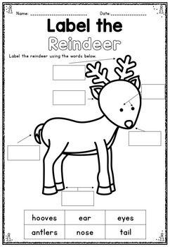Christmas Math & Literacy Packet ~... by Get Your Teach On | Teachers Pay Teachers