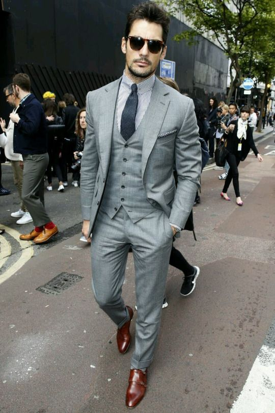 17 Best ideas about Grey 3 Piece Suit on Pinterest | Mens 3 piece ...