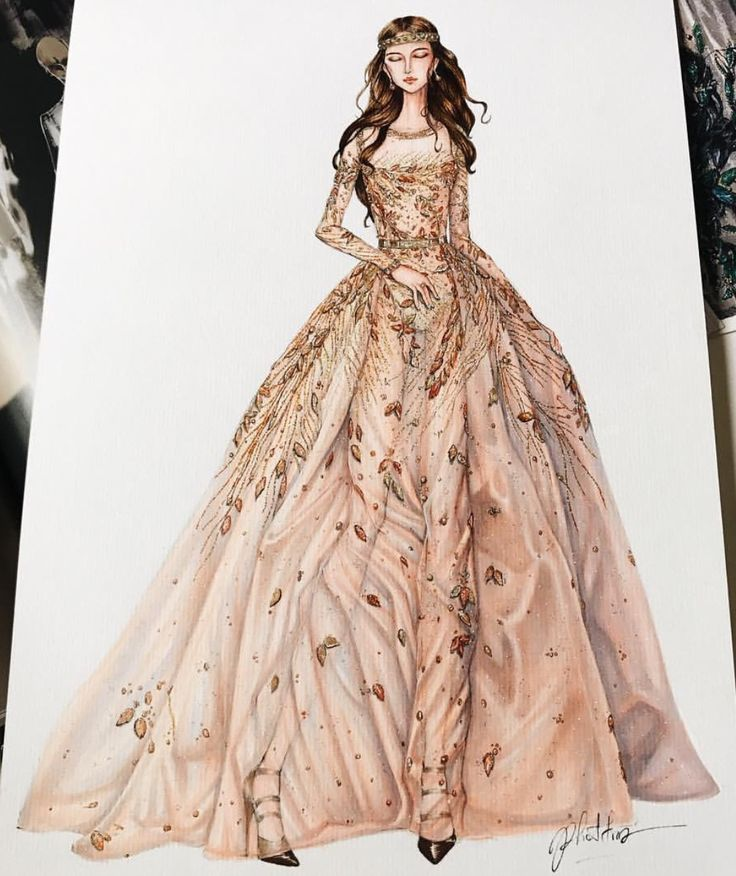 ❥|Never Stop Dreaming... @eris_tran #ElieSaab Haute Couture Fall 2017 #FashionIllustrations| Be Inspirational ❥|Mz. Manerz: Being well dressed is a beautiful form of confidence, happiness & politeness