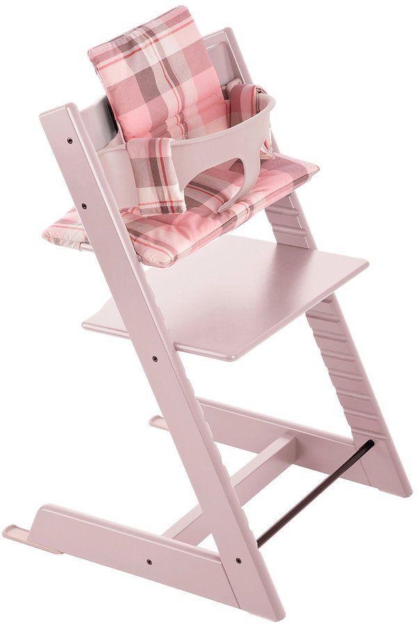 Stokke Tripp Trapp Cushion - Tartan Pink