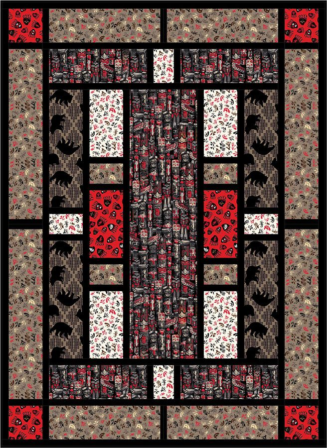 Quilting Panels Quilt Patterns : 326 best Quilts - Panel images on Pinterest Panel quilts, Bedspreads and Quilt blocks