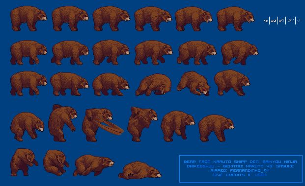 sprite database bear pixel pinterest sprites bears and