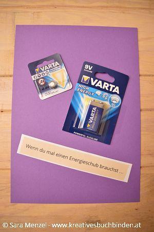 Wenn du mal einen Energieschub brauchst ...    Wenn Buch | Bastelanleitung | Wenn Buch Ideen | Wenn Buch basteln