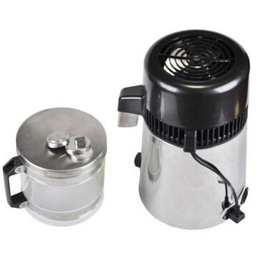 110V, Household Stainless Steel Water distiller, Pure Water Purifier Filter Glass Introduction: Distilled water is widely used by human,for this,our machine can provide most of the demand .This distiller completes 1 liter of pure steam distilled water in 1 hour.The choice of stainless exterior for most is simply cosmetic, but for some who may live ...