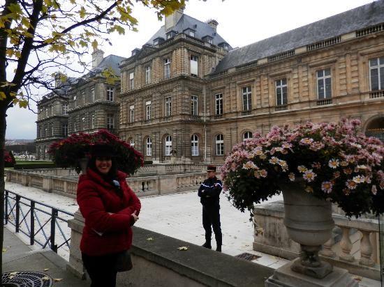 Jardin du Luxembourg :                   El palacio de Luxemburgo