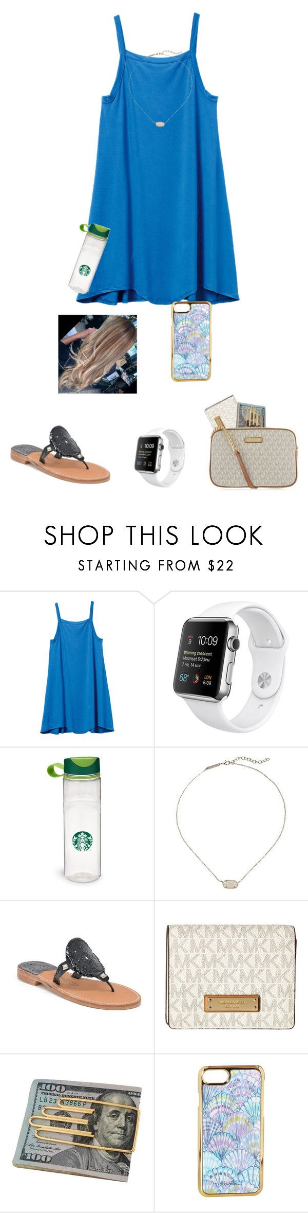 """""""Anyone from Kentucky??😂"""" by jessica-smith-xxv ❤ liked on Polyvore featuring RVCA, Kendra Scott, Palm Beach Sandals, MICHAEL Michael Kors, Cartier and Lilly Pulitzer"""
